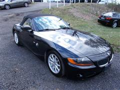 2004 BMW Z4 2.5  liter Roadster Convertible