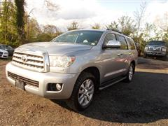 2010 TOYOTA SEQUOIA LIMITED 4WD NAVIGATION/ REAR ENTERTAINMENT PKG