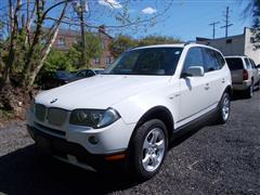 2007 BMW X3 3.0si - AWD - PANO ROOF