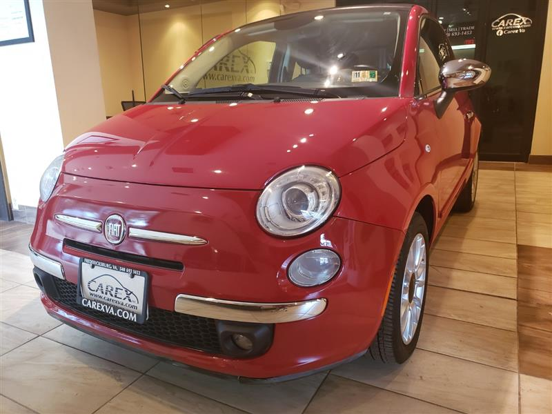 2013 FIAT 500 LOUNGE CONVERTBLE