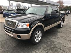 2008 FORD F-150 King Ranch Crew Cab 4WD