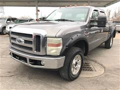 2008 FORD SUPER DUTY F-250 LARIAT 4X4 CREW CAB