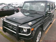 2011 MERCEDES-BENZ G-CLASS G 550