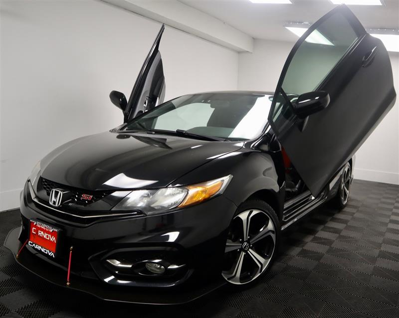 2014 HONDA CIVIC COUPE SI WITH NAVIGATION AND SUNROOF