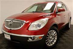 2012 BUICK ENCLAVE LEATHER AWD WITH NAVIGATION AND SUNROF