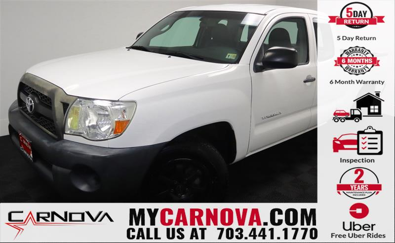 2011 TOYOTA TACOMA ACCESS CAB/CLEAN CARFAX 1 OWNER