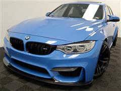 2015 BMW M3 SEDAN WITH PREMIUM AND TECHNOLOGY PACKAGE