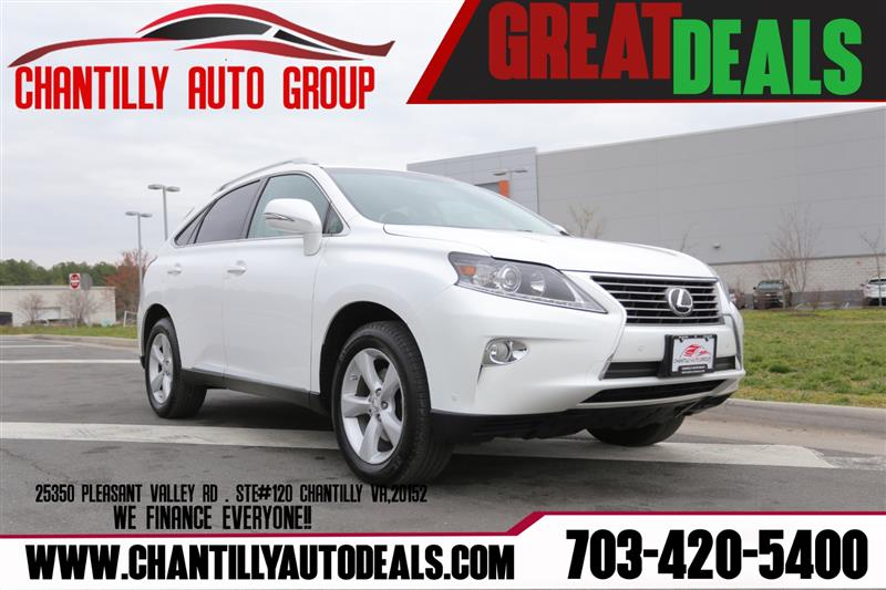 2013 LEXUS RX 350 AWD w/Navigation System and Rear Camera