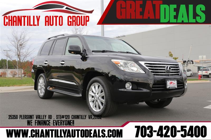 2010 LEXUS LX 570 NAVIAGTION/ FRONT/REAR/SIDE CAMERA ****