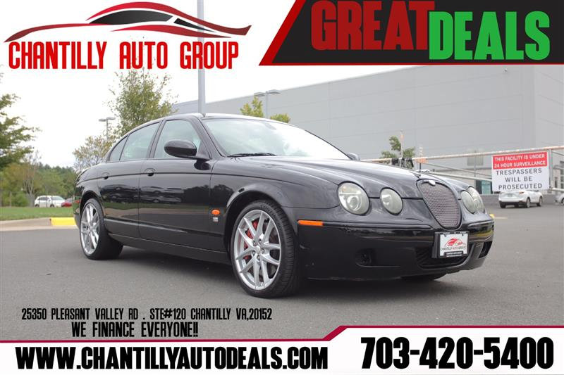 2006 JAGUAR S-TYPE R