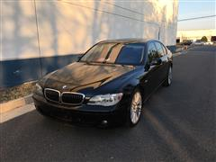 2007 BMW 7 SERIES 750i/ALPINA B7