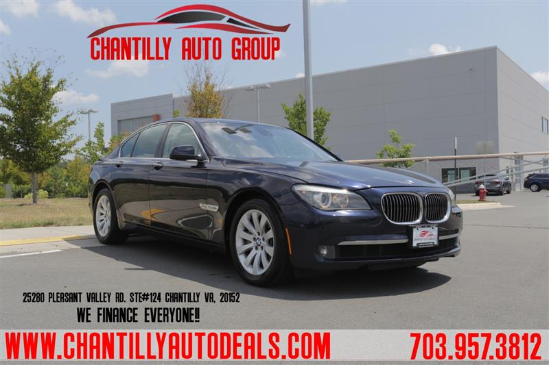2010 BMW 7 SERIES 750i xDrive