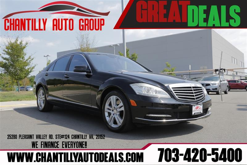 2010 MERCEDES-BENZ S-CLASS S550 4Matic with Dynamic Seats