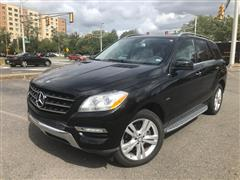 2012 MERCEDES-BENZ M-CLASS ML 350 BlueTEC