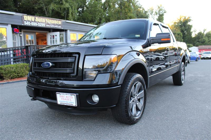 2013 FORD F-150 FX-4