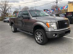 2014 FORD F-150 4X4 XLT EXTENDED CAB