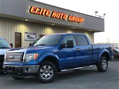 2010 FORD F-150 XLT CREW PICKUP 4WD
