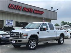 2008 FORD SUPER DUTY F-250 SRW King Ranch 6.4L Crew Cab 4X4