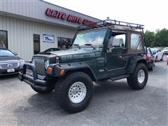 2000 JEEP WRANGLER Sport 4x4 Lifted