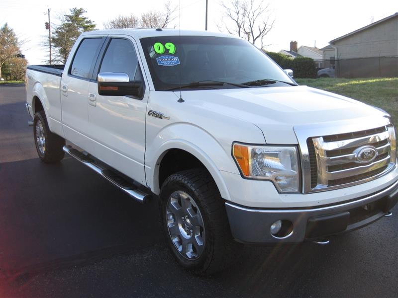 2009 FORD F-150 XLT SuperCab Flareside 4WD