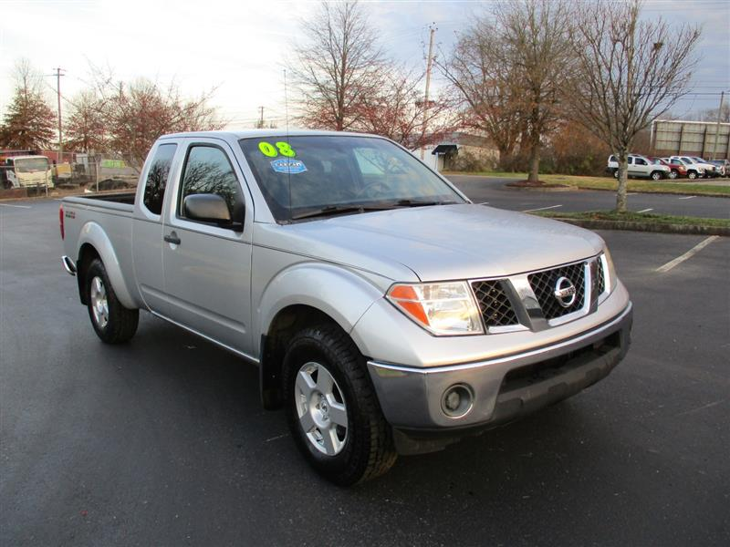 2008 NISSAN FRONTIER SV KING CAB 4X4