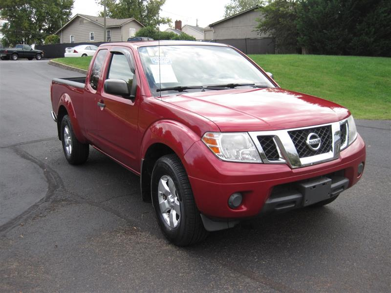 2012 NISSAN FRONTIER SV EXTENDED CAB 4WD