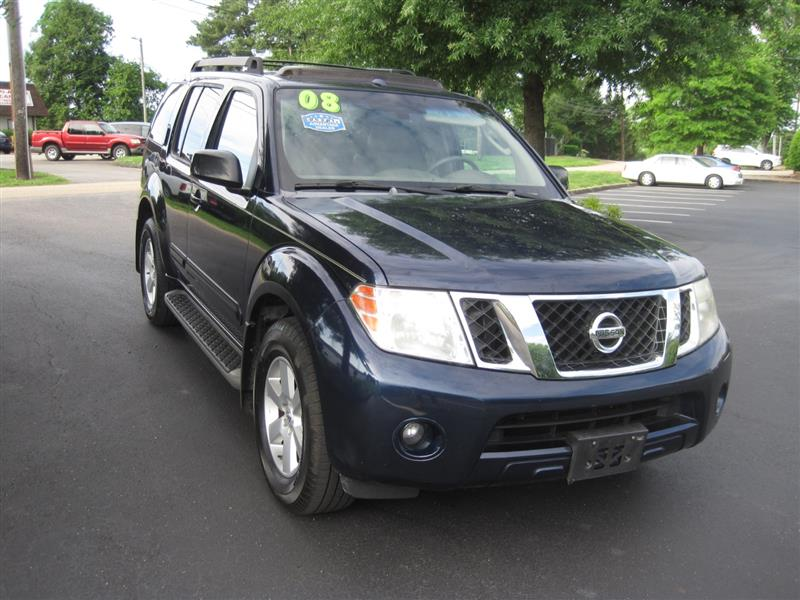2008 NISSAN PATHFINDER  SE Off Road