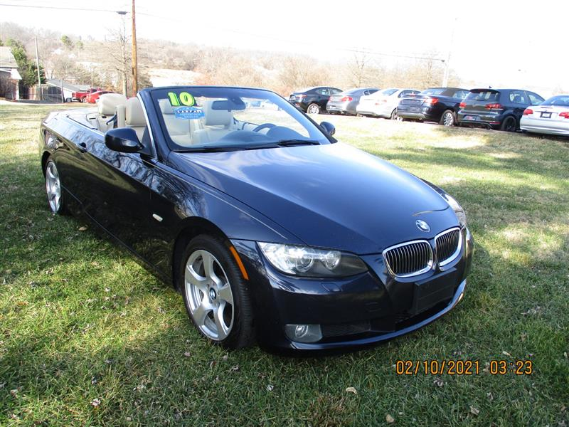 2010 BMW 3 SERIES 328 i Hard Top Convertible w Sport & Prem Pkg