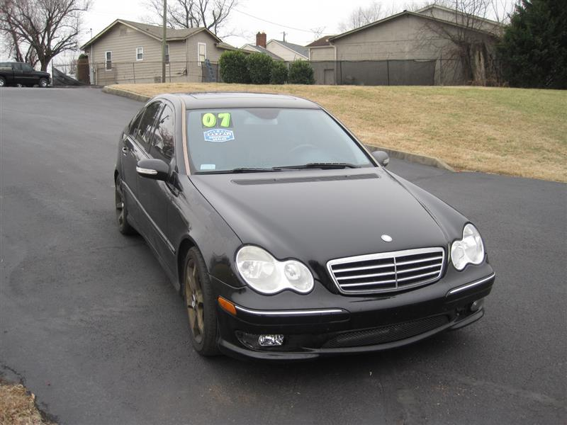 2007 Mercedes Benz C Class 2 5l Sport Knoxville