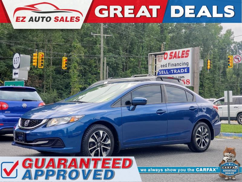 2014 HONDA CIVIC SEDAN EX w/Navigation