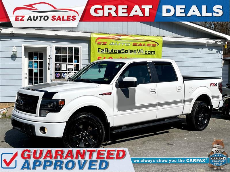 2013 FORD F-150 FX-4 Eco-boost 3.5L V6 Twin Turbocharger