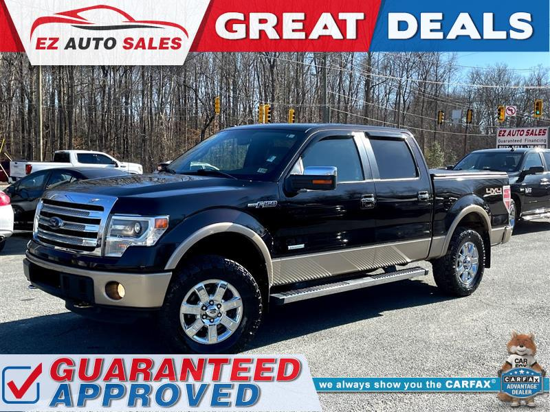 2013 FORD F-150 Lariat 4WD Supercrew