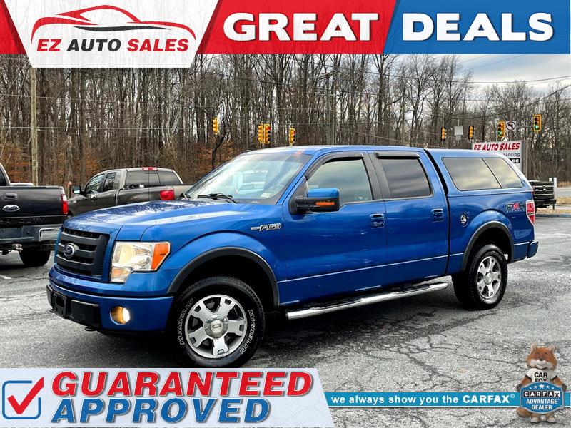 2010 FORD F-150 FX4 4X4 SUPERCREW