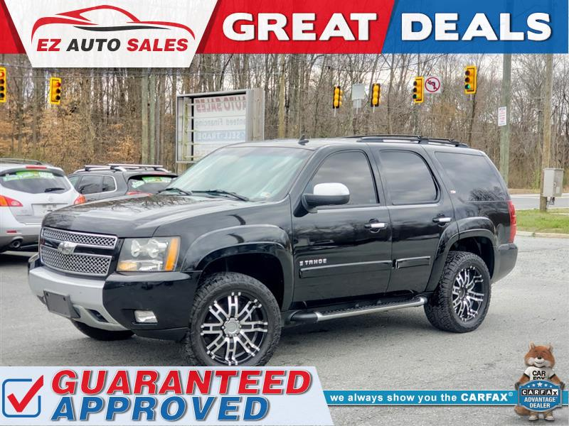 2007 CHEVROLET TAHOE Z71 2 tone Leather Fully Loaded