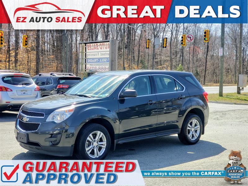 2013 CHEVROLET EQUINOX LS AWD - ONE OWNER