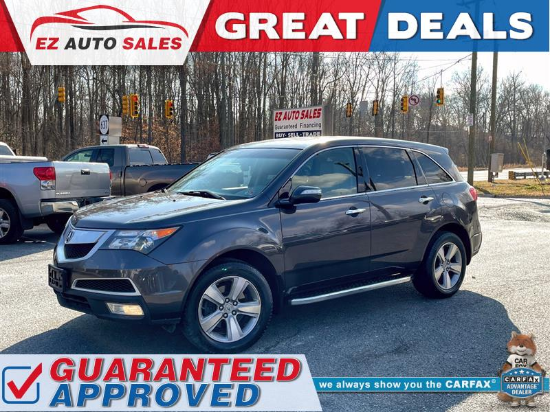 2010 ACURA MDX SH-AWD WITH 3RD ROW SEATING