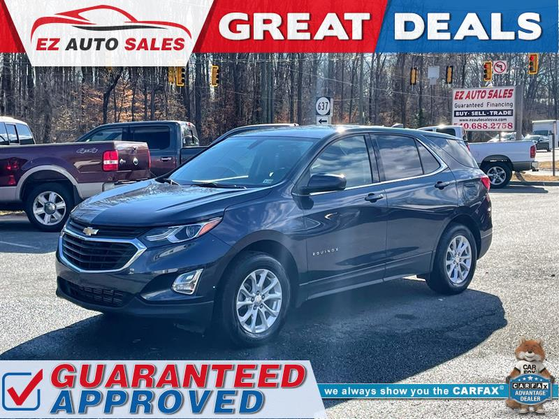 2018 CHEVROLET EQUINOX LT AWD - ONE OWNER