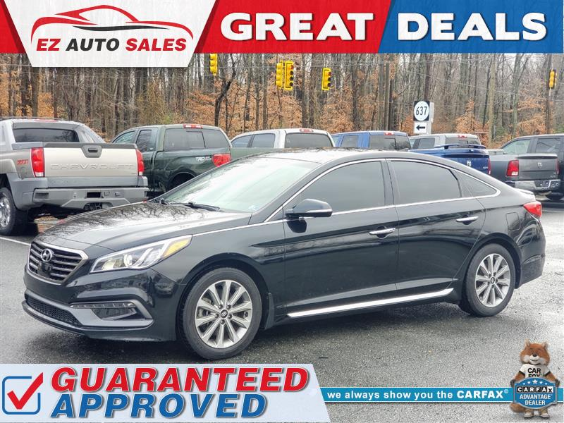 2016 HYUNDAI SONATA 2.4L Limited / Fully Loaded / One Owner