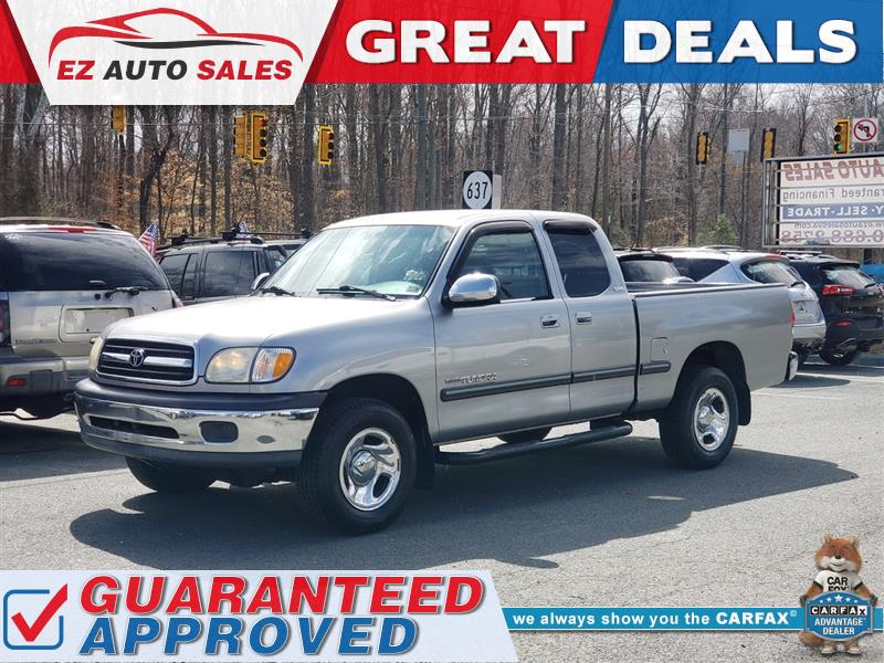2002 TOYOTA TUNDRA SR5 EXTENDED CAB