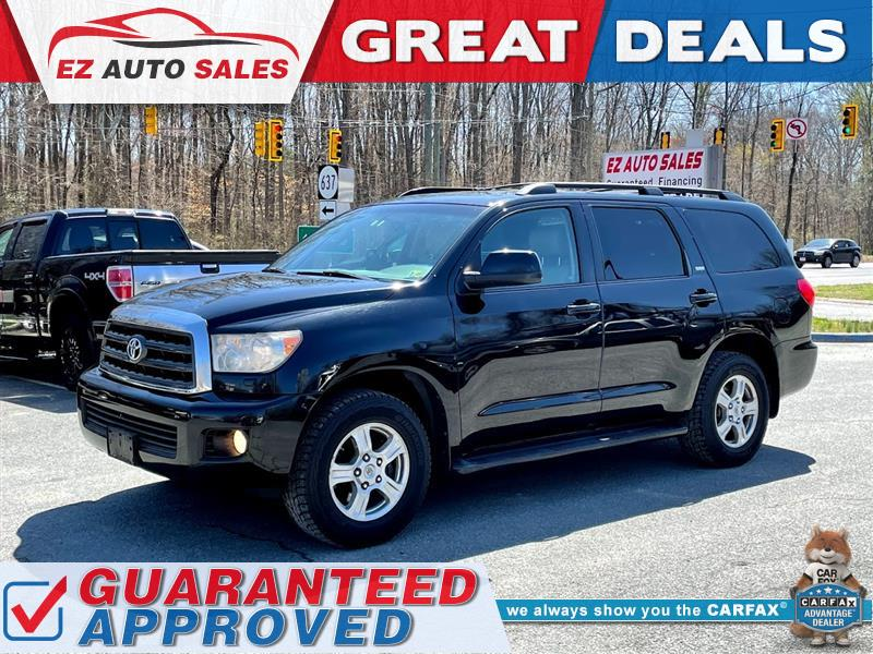 2008 TOYOTA SEQUOIA SR5 4WD - LEATHER