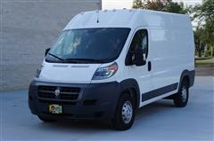 2018 RAM PROMASTER CARGO VAN 2500 HIGH ROOF