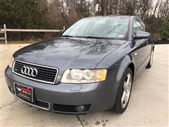 2005 AUDI A4 1.8T SE