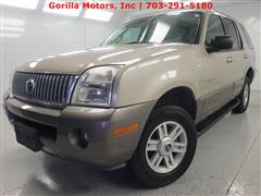 2004 MERCURY MOUNTAINEER Convenience/Luxury/Premier