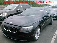 2012 BMW 7 SERIES 750Li / NAVIGATION / LOW MILES