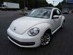 2013 VOLKSWAGEN BEETLE COUPE 2.0L TDI w/Sun