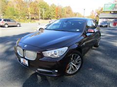 2012 BMW 5 SERIES GRAN TURISMO 550i xDrive