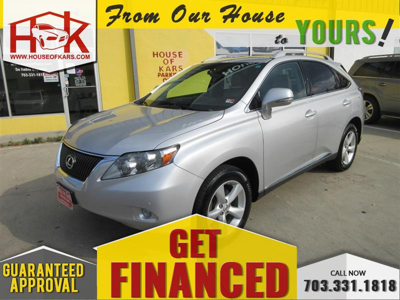 2012 LEXUS RX 350 AWD w/Navigation System and Rear Camera