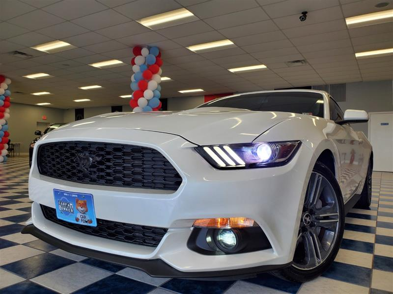 2017 FORD MUSTANG 6 Speed Manual