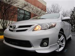 2013 TOYOTA COROLLA S Sports Sedan