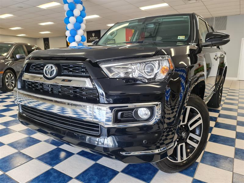 2018 TOYOTA 4RUNNER LIMITED 4WD NAVI RVC